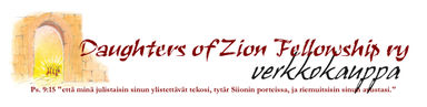 Daughters of Zion Fellowship ry verkkokauppa